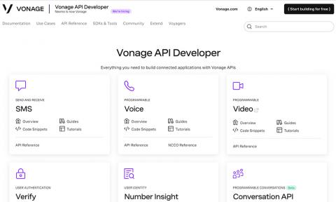 Vonage API Developer