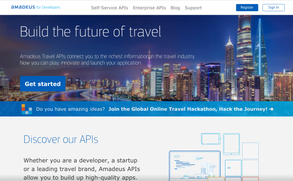 Amadeus for Developers | DevPortal Awards