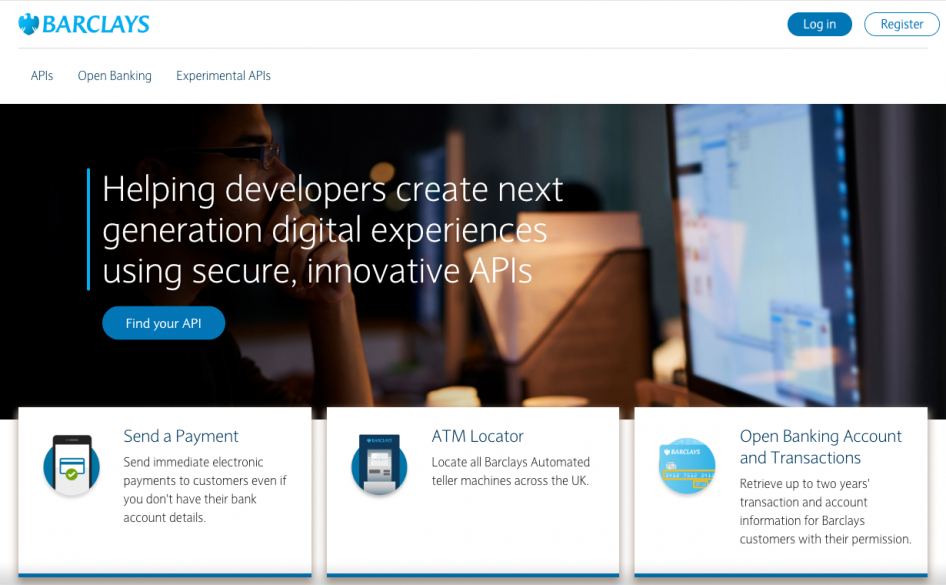 Barclays API Exchange