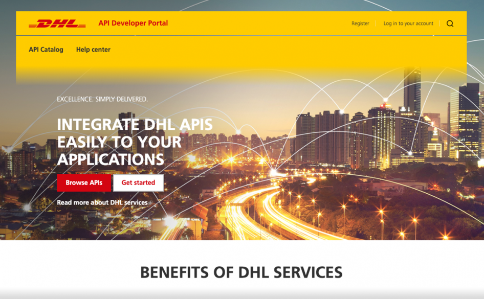 DHL Group Developer Portal