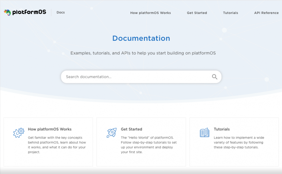 platformOS Developer Portal