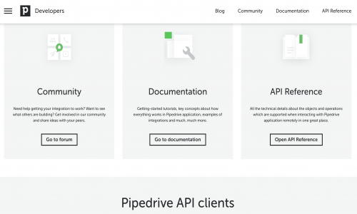 Pipedrive Developers Corner
