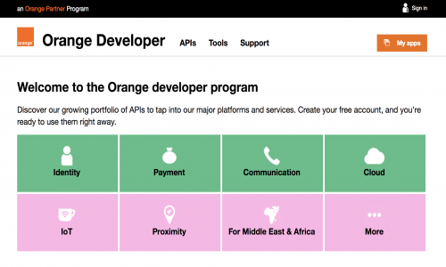 Orange Developer