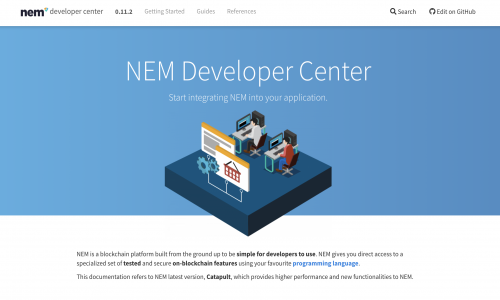 NEM Developer Center