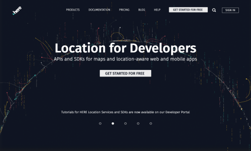 HERE Developer Portal