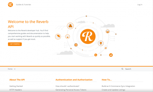 Reverb Developer Hub