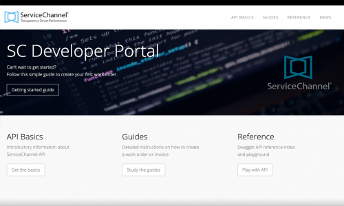 Service Channel Developer Portal