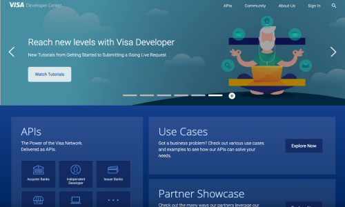 Visa Developer Center