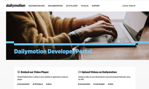 Dailymotion Developer Portal